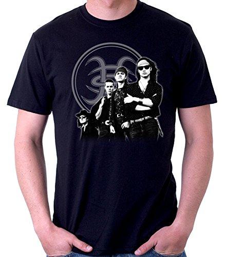 35mm - Camiseta Hombre - Heroes Del Silencio - Senderos De Traición - T-Shirt, NEGRA, XXL