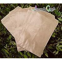 100 pezzi SACCHETTI carta kraft, confettata, 10x16 cm, avana, bustine carta, sacchetti carta confetti, confettata, sacchettini kraft