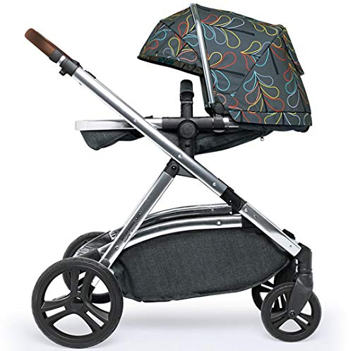 Cosatto Wow XL Tandem Pushchair in Nordik with Board car seat Bag & footmuff Cosatto INCLUDES: Chassis, Carrycot, Seat unit, Buggy board, Dock isize car seat, Change bag, Footmuff, 2 x Raincover, 2 x Toys and 10 year guarantee(UK and Ireland only) Comes as a single unit with carrycot, seat unit and adaptor kit. Suitable from birth up to 25kg Seat unit suitable from 6 months up to 25kg Carrycot suitable from birth to approx. 6 months Compatible with Dock i-Size car seat. (Car seat & adaptor both included) High position seat option bringing baby closer to you less reaching and stretching post pregnancy. From-birth carrycot with comfy mattress, carry handle and removable washable liner. 'In or out' facing pushchair seat lets them bond with you or enjoy the view. Deep comfy pushchair seat for a supportive snuggle. Seat structured and upholstered for ultra comfort. Chest pads and tummy pad. This is comfort. 8