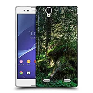 Snoogg Green Rocks Designer Protective Phone Back Case Cover For Sony Xperia T2 Ultra