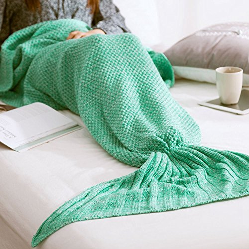 floweryocean-handmade-knitted-mermaid-tail-blanket-warm-soft-flexible-stretchable-living-room-bed-ro