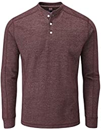 Charles Wilson Henley Long Sleeve Top