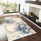 GCC Traditionelle Blumenteppich Designer Teppich Wohnzimmerteppich Retro Modern Casual Unschlagbaren Deal Kann Maschinell Gewaschen Werden,03,160 * 230Cm