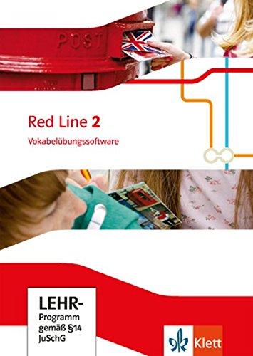 Red Line 2: Vokabelübungssoftware Klasse 6 (Red Line. Ausgabe ab 2014)