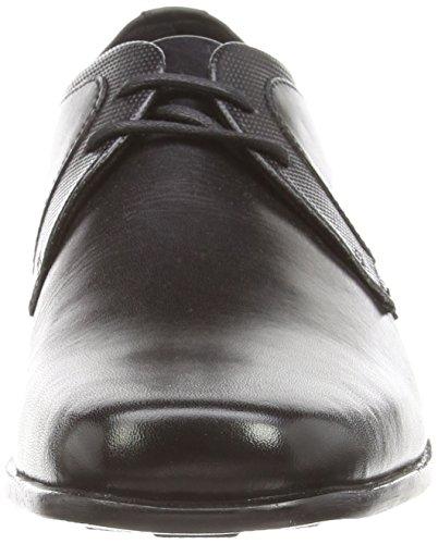 Kickers Ferock Lace2 Lthr Am, Derby Homme Noir (Black)