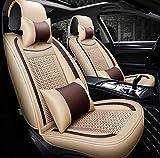 Housse de siège auto super respirante en soie de soie pour BMW F10 F11 F15 F16 F20...