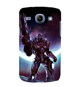 printtech Space Hero Warrior Game Back Case Cover for Samsung Galaxy E5 / Samsung Galaxy E5 E500F