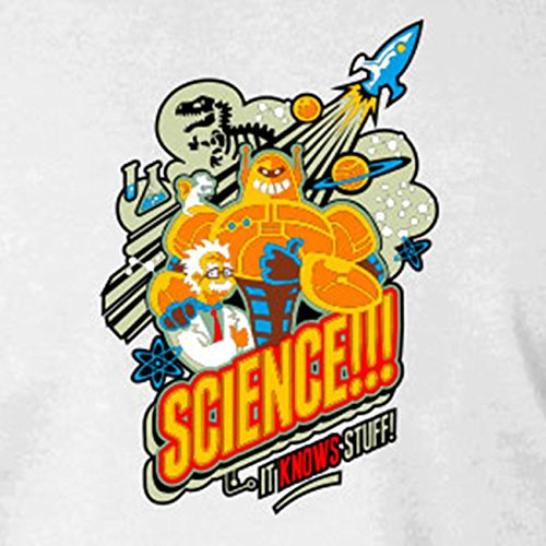 Science knows Stuff - Stofftasche / Beutel Rot