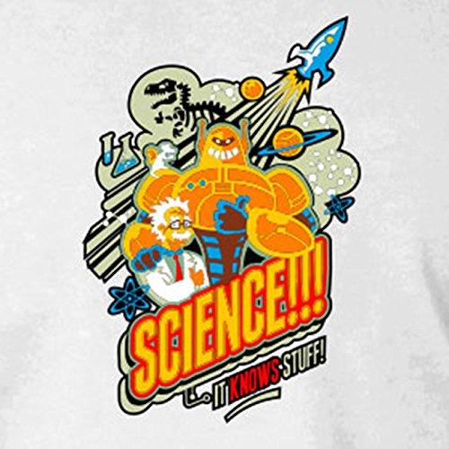 Science knows Stuff - Stofftasche / Beutel Grau