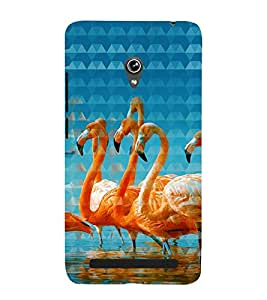 Print Masti Designer Back Case Cover for Asus Zenfone 6 A600CG (Beautiful Group Young Swim)