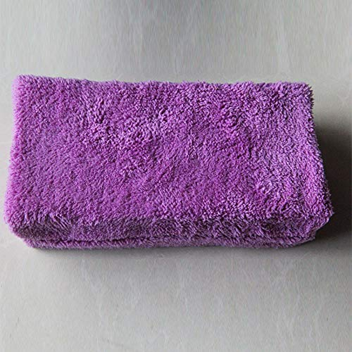 Qiyun Autowaschen, Handtücher, Mikrofaser-Handtuch 6PZ, Autowäsche zur Reinigung von Wachs und Abdichtung, Perfekt für Autowäsche und Lackierung -