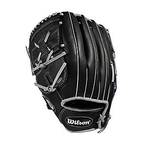 WILSON A360Baseballhandschuh, schwarz/grau