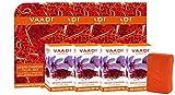 Vaadi Herbals Value Kesar Chandan Facial Bars with Extract of Orange Peel, 25gm