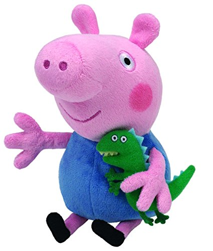 Image of Ty UK George (Peppa Pig) Beanie 6""
