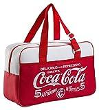 Meliconi Coca Cola Classic Borsa Termica 16 Lt, 600D Pu, Rosso/Bianco, 42x15x26 cm