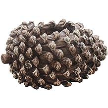 Gosear Macetas de Resina Para Maceta Suculento Cactus Planta Conos de pino