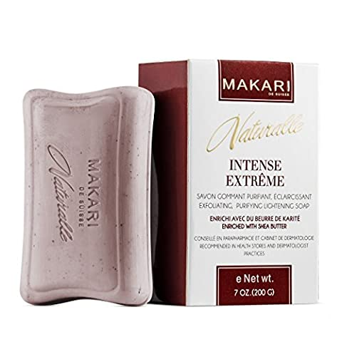 Makari Naturalle Intense Extrême Savon Éclaircissant (7 oz.) Action anti-âge