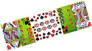 Party Stuff Playing Cards Theme Tambola Housie Tickets - Playing Cards kukuba 12 - Designer Kukuba (16 Cards) | Kitty Games
