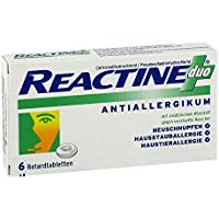 Reactine duo Tabletten, 6 St. preisvergleich bei billige-tabletten.eu