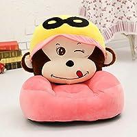 MAXYOYO Cute Monkey PP Baumwolle gefüllt Plüsch Toy Sitzsack, Cartoon Affe Samt Sofa Sitz weich, Plüsch Kinder Stühle Monkey 3 preisvergleich bei kinderzimmerdekopreise.eu