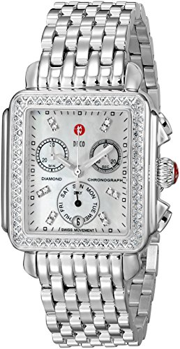 Michele Deco 16 Diamond Ladies Watch MWW06V000001