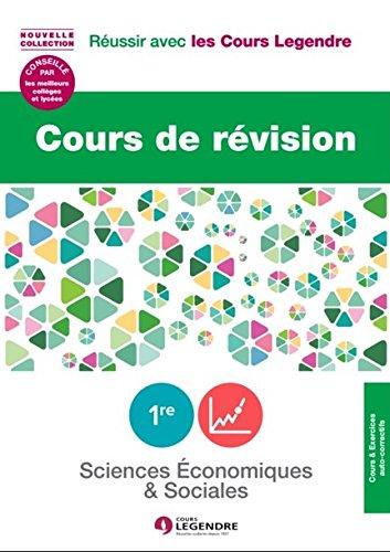 Cours de révision Sciences économiques et sociales 1re ES : Leçons et exercices