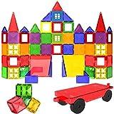 Desire Deluxe Magnetic Building Blocks Tiles Set - Educational Kids Toys for Boys