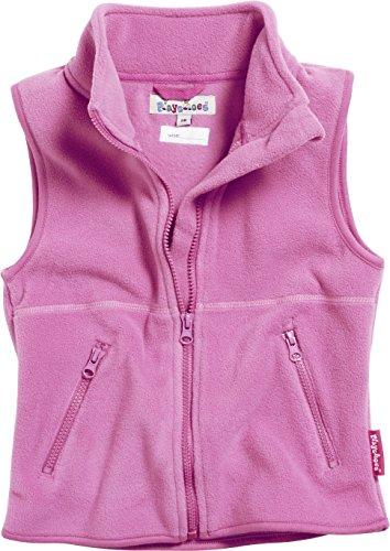 Playshoes Unisex - Baby Weste Fleece-Weste aus hochwertigem Fleece in blau oder pink von Playshoes, Art. 420012, Gr. 80, Rosa (18 pink)