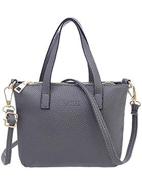 LILICAT Frauen Mode Handtasche Damen Handbag Elegant Schultertasche Shopper Bag Mode Tote Ladies Chic Geldbörse...