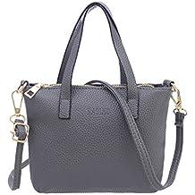 Women Handbag, Rcool Fashion Solid Color Tote