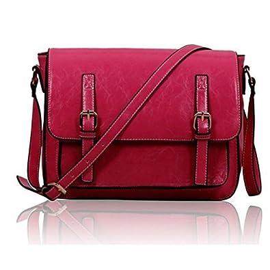 Womens Satchel Bags Mens Messenger Faux Lather Ladies Handbags ...