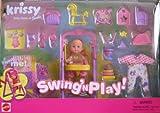 Barbie Krissy Swing 'n Play. Set w Arbeiten Swing. (2001)
