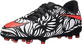 Nike JR Hypervenom Phelon II NJR FG, Scarpe da Calcio Bambino, Negro/Naranja/Blanco (Black/Bright Crimson-White), 30 EU
