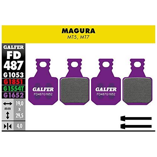GALFER BIKE Pastiglie mescola Viola e-Bike per Freni Magura MT5 - MT7 (Pastiglie Ciclo)