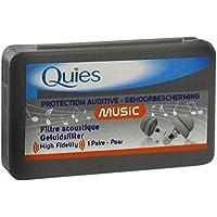 Quies Musik High Fidelity Ohr Plugs –-Schutz–High Fidelity Ohrstöpsel für Musiker, Konzerte, Schlagzeuger,,... preisvergleich bei billige-tabletten.eu