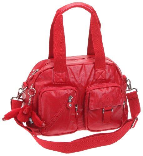 Kipling DEFEA K13636, Borsa a tracolla donna 33x24x19 cm Rosso (Rot/Lacquer  Red
