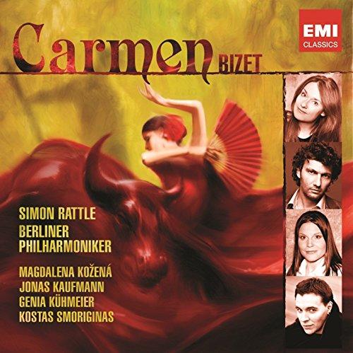 BIZET: Carmen / Rattle, Kozena, Kaufmann, Smoriginas, Kuhmeier, Berlin Philharmonic Orchestra, Berlin Deutsche Oper Chorus