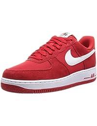 Details zu Herren Nike Air Force 1 07 Dunkelrot Turnschuhe AA4083 603