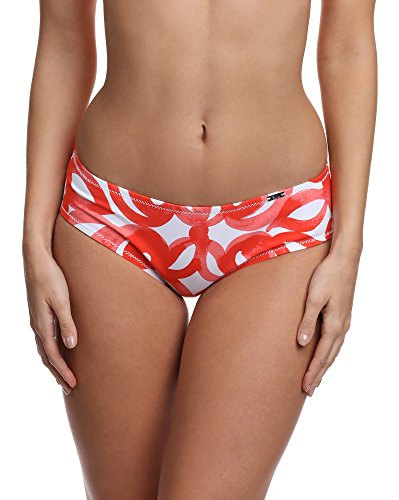 AVA Damen Bikini Slip SF 1 Coral-SF14/1