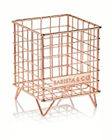 Barista & Co Pod Cage Coffee Capsule Holder, Electric Copper-parent