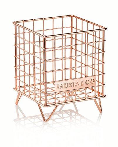 Barista & Co Pod Käfig Kaffee-Kapselhalter, elektrische copper-parent Electric Copper