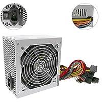 Cablematic - Fuente de alimentación de 220VAC PC 500W ATX-EPS12V silenciosa