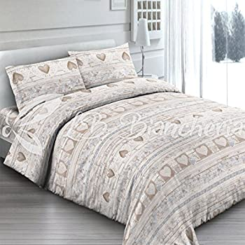 ad1d917b95 Trapunta invernale Piumone Lovely - Made in Italy - Cotone a trama fitta - 2  piazze. letto matrimoniale - Beige