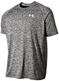 Under Armour Ua Tech Ss Tee Herren Fitness - T-Shirts & Tanks, Schwarz (Black Heather), XXL medium image