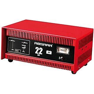 Absaar Unitec Batterieladegerät 22A 12V Starthilfe Ladegerät Batterie Autobatterieladegerät Autobatterie Starthilfegerät 77917