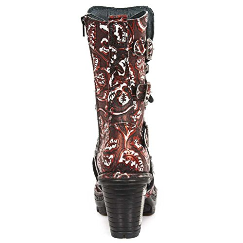 New Rock Neotrail Rot Stiefel M.NEOTR005-S31 Red, red
