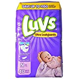 Luvs Ultra Leakguards Diapers - Newborn - 40 ct by Luvs