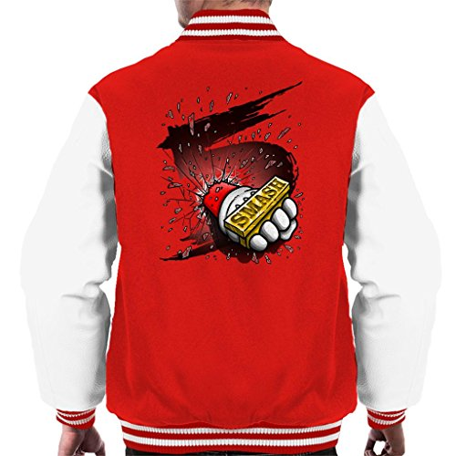 Cloud City 7 Super Smash Bros 5 Knuckle Duster Men's Varsity Jacket