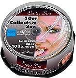 Erotic Sins - 10er Collectors Box ( 10 DVD's auf Spindel )