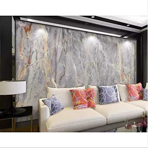 Zybnb Benutzerdefinierte 3D Mural Tapete Silk Wall Paper 3D Stereo Marmor Europäischen Stein Muster Wohnzimmer Foto Tapete Wohnkultur-350X250Cm